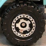 Matchbox Wheels : Cog - Chrome