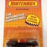 Matchbox 1986 Blister Pack