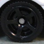 Matchbox Wheels : 5 Spoke - Black