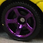 Matchbox Wheels : 5 Spoke - Purple