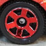 Matchbox 6 Spoke - Red