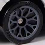 Matchbox Wheels : Lace - Grey