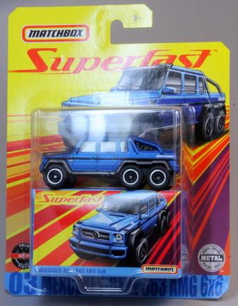Matchbox MB1056-11 : Mercedes-Benz G63 AMG 6×6