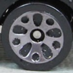 Matchbox Wheels : Teardrop - Grey