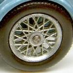 Matchbox Models of Yesteryear Wheels : 24 Spoke Metal Chrome