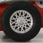 Matchbox Models of Yesteryear Wheels : 24 Spoke Plastic Aluminium