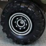 Matchbox Wheels : 8 Dot Dual Ring - White