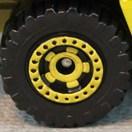 Matchbox Wheels : Cog - Yellow