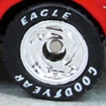 Matchbox Wheels : Goodyear Eagle - Chrome