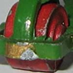 Matchbox Wheels : Metal Roller Front - Red