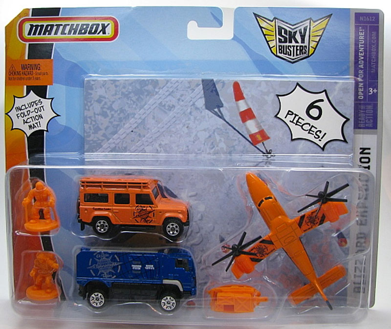 Matchbox Skybusters : 2008 Blizzard Expedition