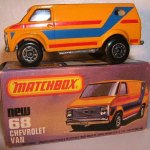 Matchbox MB068-02 : Chevy Van