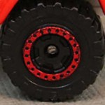 Matchbox Wheels : Cog - Black/Red