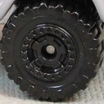 Matchbox Wheels : Cog - Black