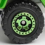 Matchbox Wheels : Cog - Green
