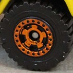 Matchbox Wheels : Cog - Orange