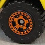 Matchbox Wheels : Cog - Orange
