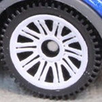 Matchbox Wheels : Double 10 Spoke - White
