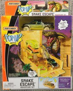 Matchbox Snake Escape Adventure Set 2008