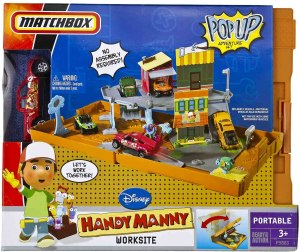 Matchbox Handy Manny Worksite - 2009