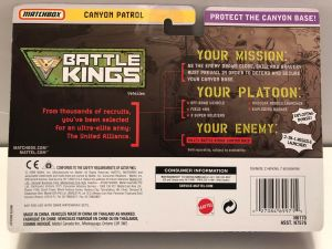 Matchbox Battle Kings Canyon Patrol 2010