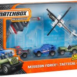 Matchbox 2014 Mission Force Tactical Crew