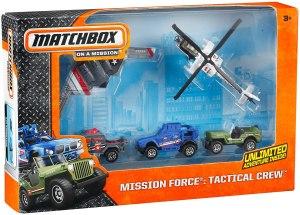 Matchbox 2014 Mission Force Tactical Crew