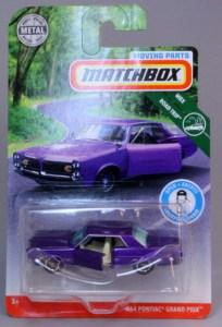 Matchbox MB1138-01 : ´64 Pontiac Grand Prix