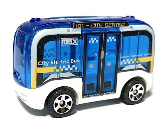 Matchbox MB1212 : MBX Self Driving Bus