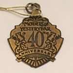 Matchbox Models of Yesteryear : YMS : 40th Anniversary Collection Medallion