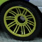 Matchbox Wheels : Double 10 Spoke - Yellow