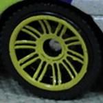 Matchbox Wheels : Double 10 Spoke - Yellow