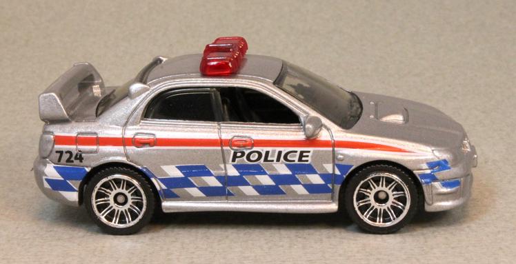 Matchbox MB751 : Subaru Impreza Police