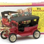 Matchbox Models of Yesteryear : Y01-2-06 : 1911 Ford Model 'T' Car