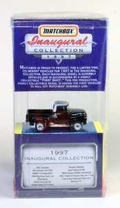 Matchbox Inaugural Collection MB300 : Ford F-150 Pick Up