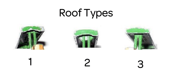 Matchbox 01A Road Roller Roof Types