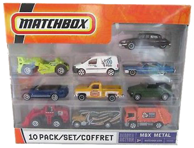 Matchbox 10 Pack : 2008 All Exclusive – All New