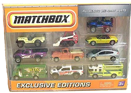 Matchbox 10 Pack : 2010 All Exclusive - First Editions