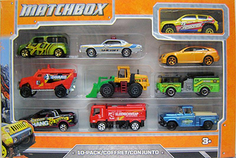 Matchbox 10 Pack : 2012 #04