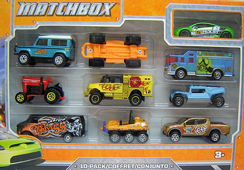 Matchbox 10 Pack : 2012 #05