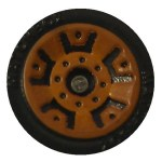 Matchbox Wheels : 5 Dot Crown - Brown