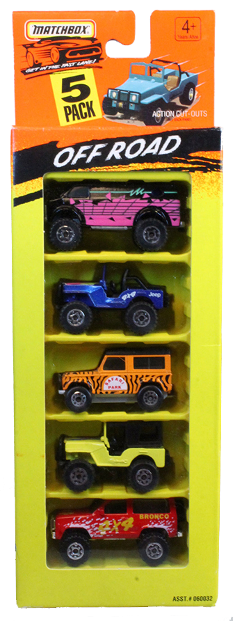 Matchbox 5 Pack – 1993 #02 Off Road