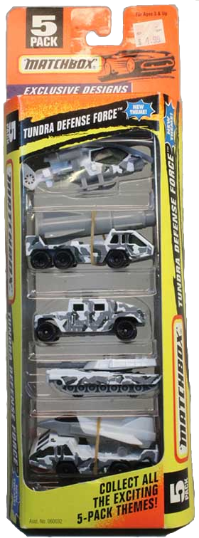 Matchbox 5 Pack : 1997 #16 - Tundra Defence Force
