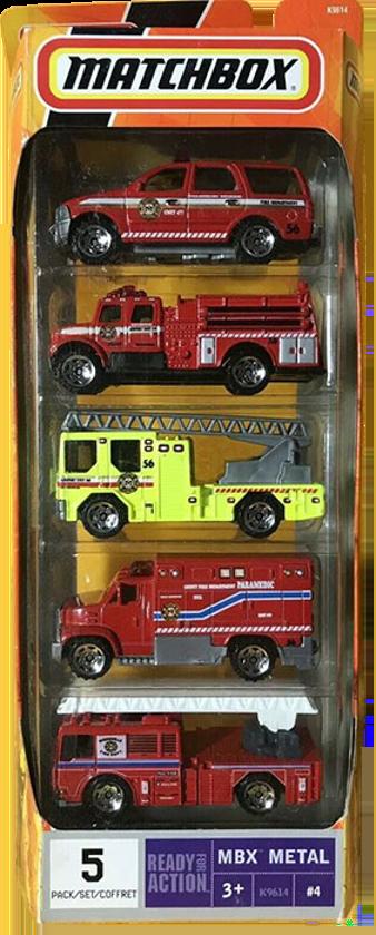 Matchbox 5 Pack : 2007 #04 - Fire