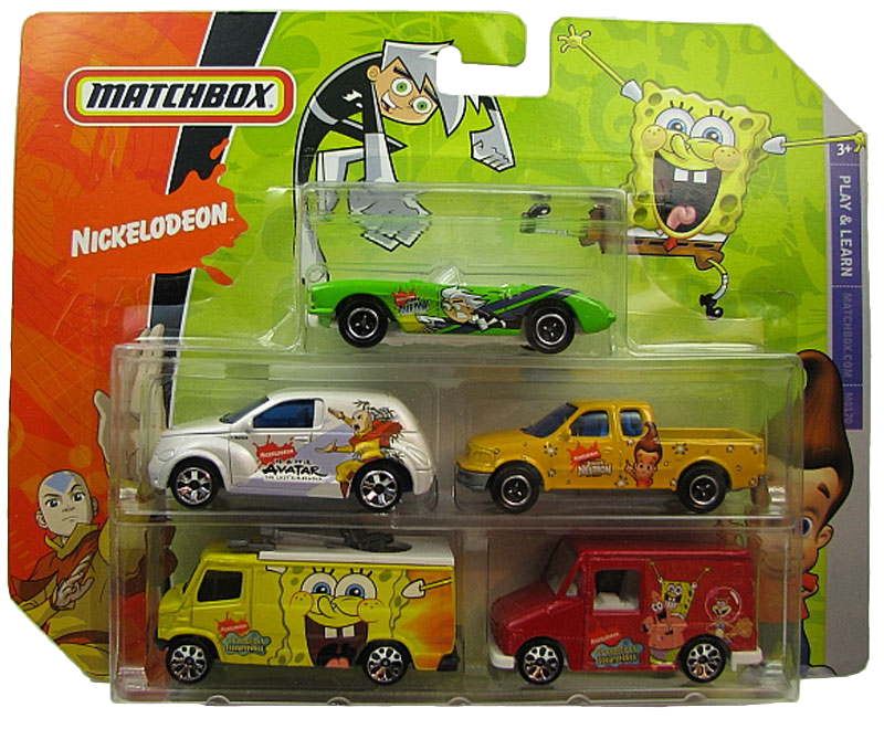 Matchbox 5 Pack : 2008 – Nickelodeon #04