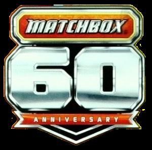 Matchbox 60th Anniversary logo