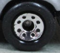 Matchbox Wheels : 8 Dot - Chrome