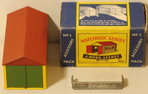 Matchbox A3 : Metal Lock Up Garage
