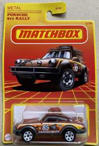 Matchbox MB1185 : Porsche 911 Rally