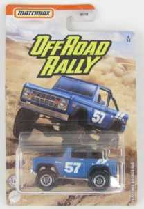 Matchbox MB720-A : Ford Bronco 4×4